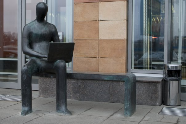 Памятник менеджеру